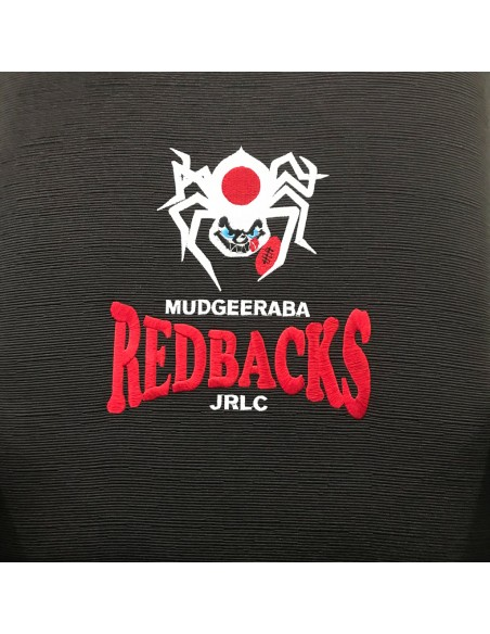 Custom embroidery is offered at a additional cost.
